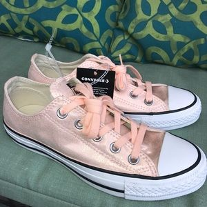 Converse All Star Shimmer Canvas Sneaker size 6